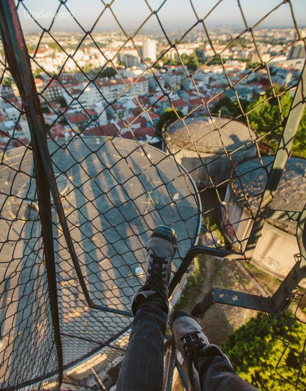 Район Monte do Tadeu, самый высокий район Порту (7)