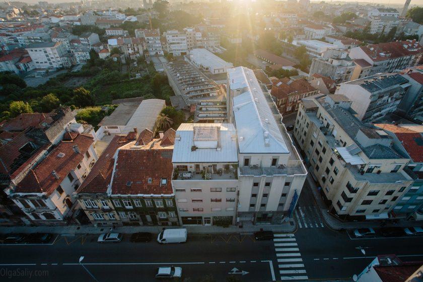 Район Monte do Tadeu, самый высокий район Порту (3)