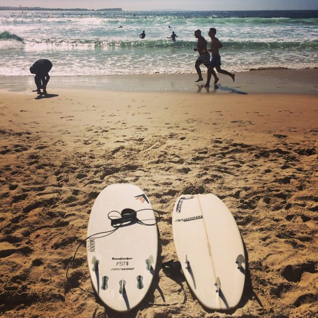 Сёрфинг в Балеале, Португалия