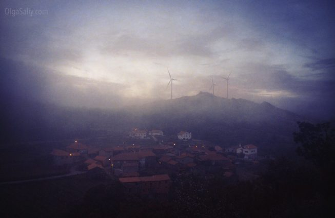 Деревня в горах Португалии