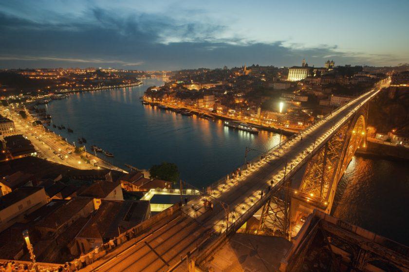 Мост через Дору в Порто