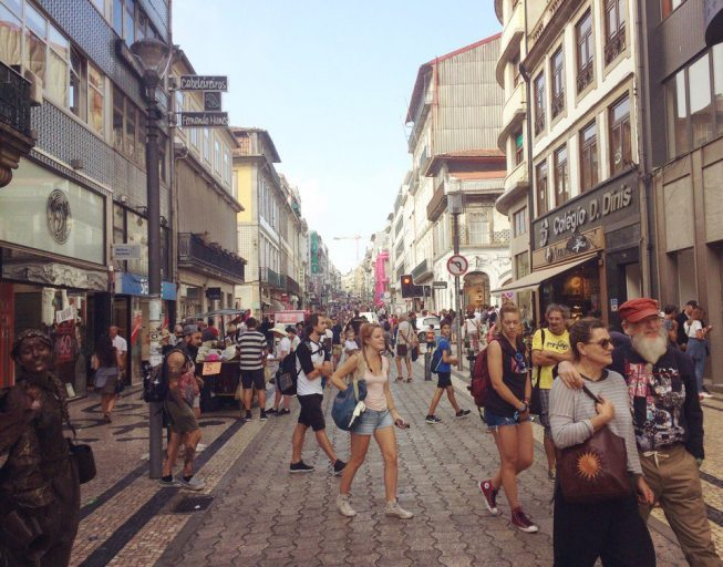 Санта Катарина, улица в Порто