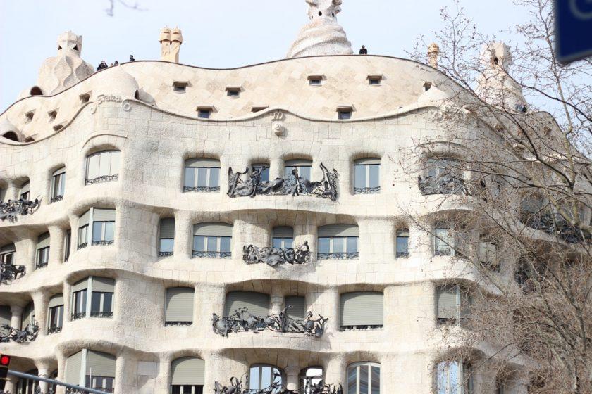 Здания Гауди в Барселоне