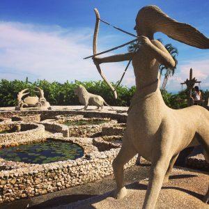 Статуи знаки зодиаков на Самуи (2)