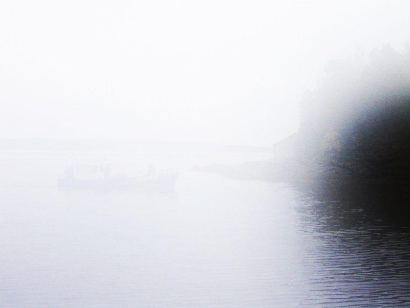 Туман на Белом море