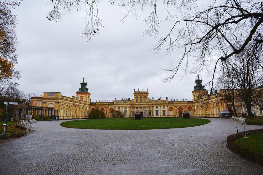 Дворцы в Варшаве