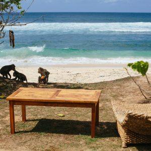Пляж Улувату, бали, безлюдный пляж