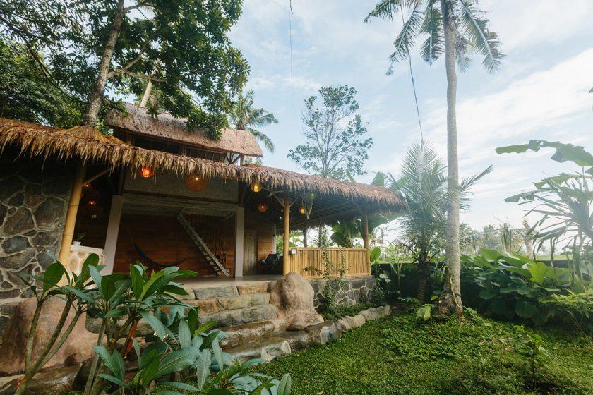 Купить дом на Бали в рисовых полях