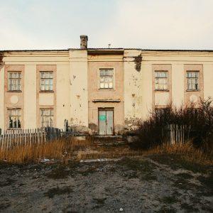 Заброшенная поликлиника в Териберке