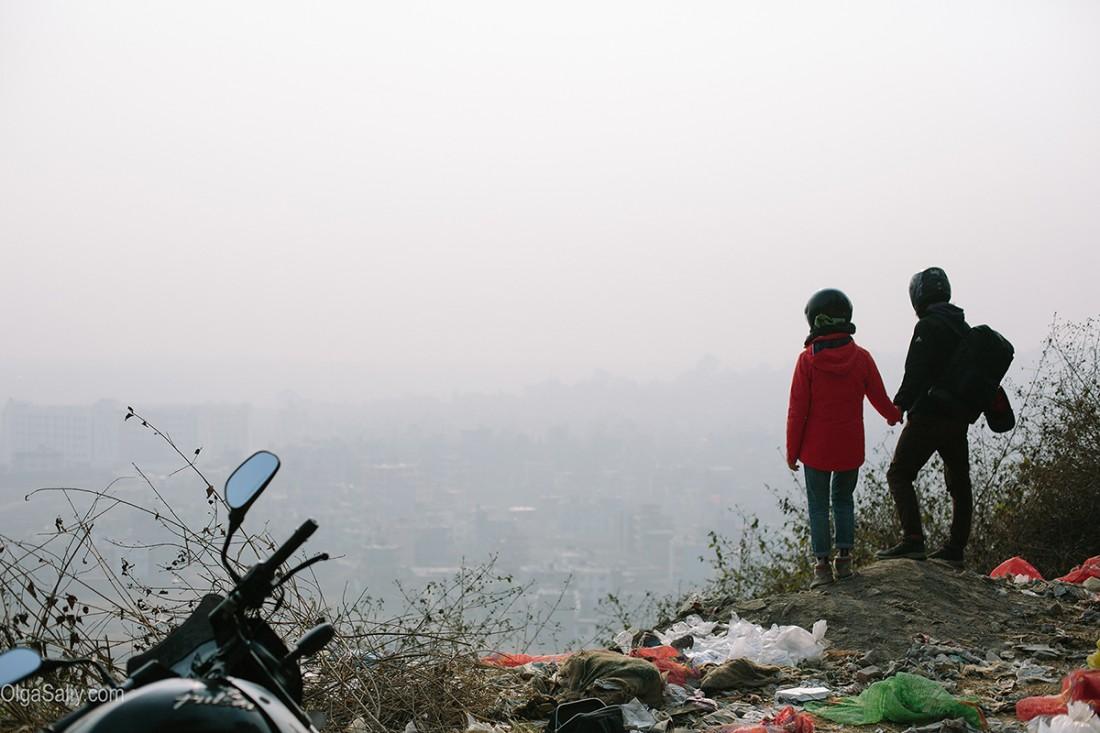 Путешествие на байке из Долины Катманду
