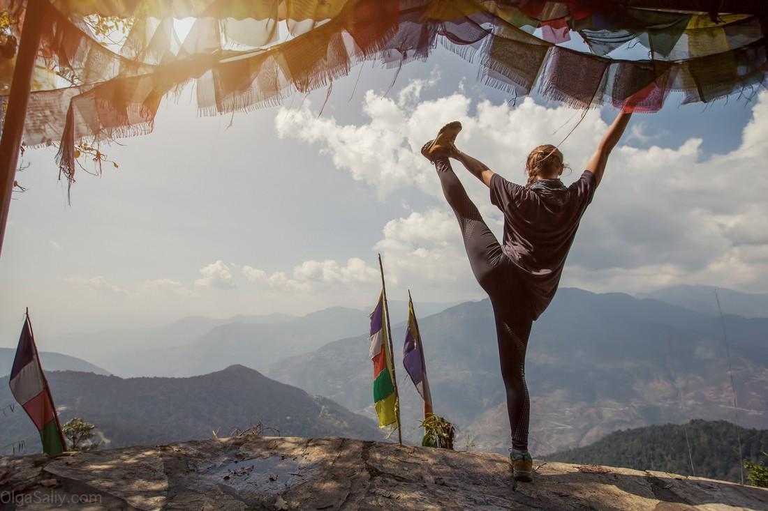 Йога в Гималаях