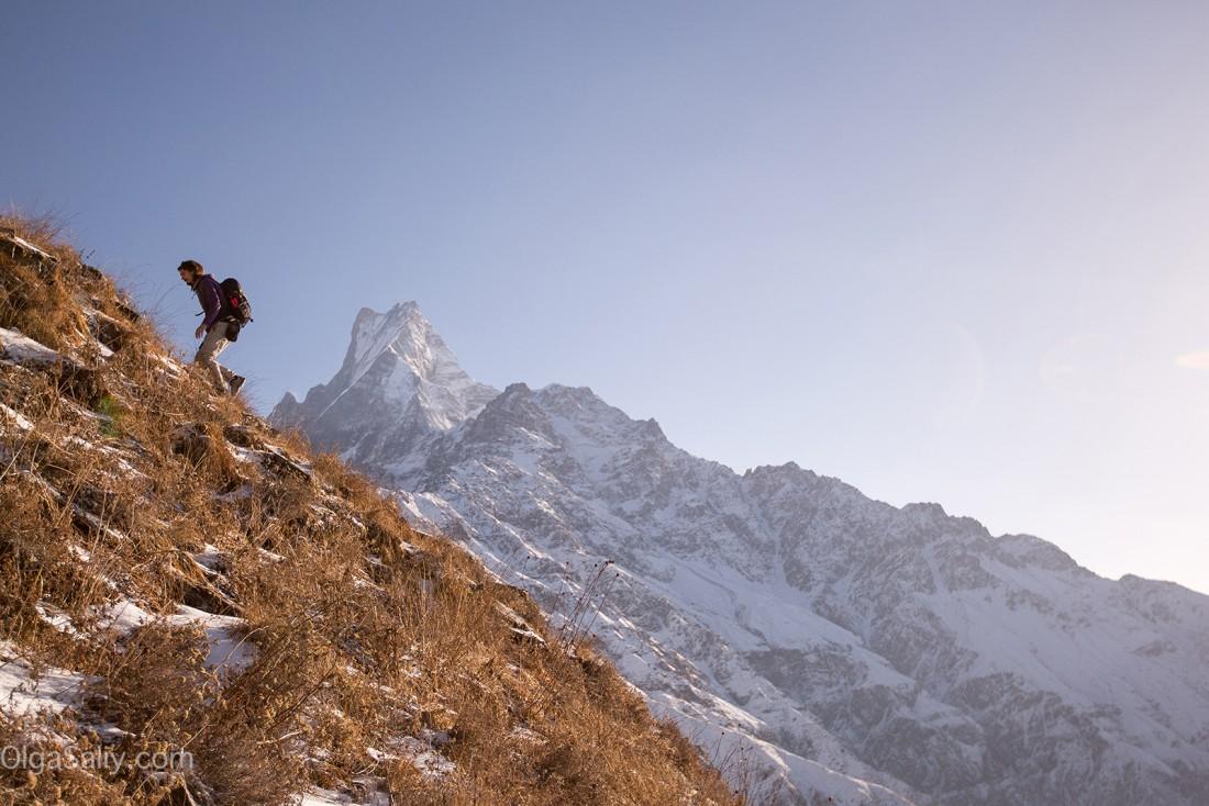 Трек к Фиштейлу, Мачепучаре, священная гора