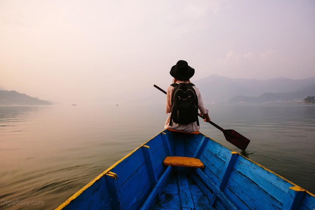 Покхара, озеро Фева