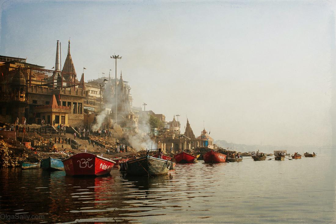 Варанаси. река Ганг
