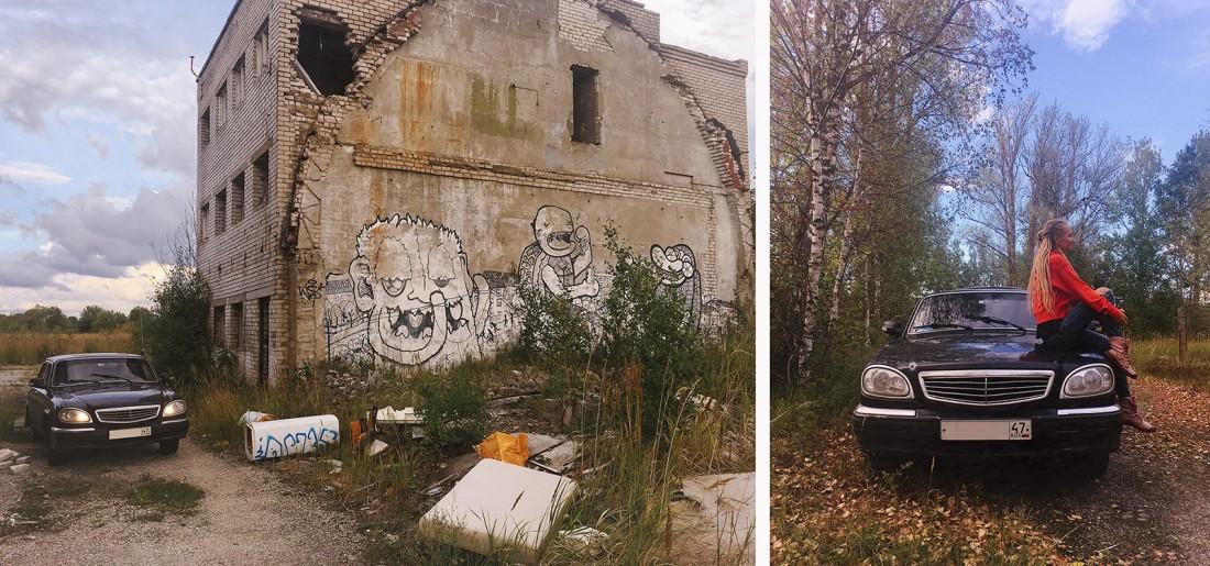 путешествие из Питера в Таллин на черной Волге