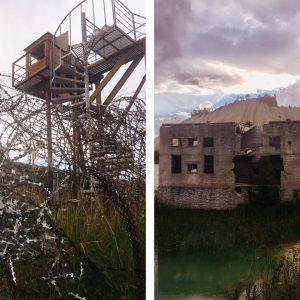 Заброшенная тюрьма возле Таллина