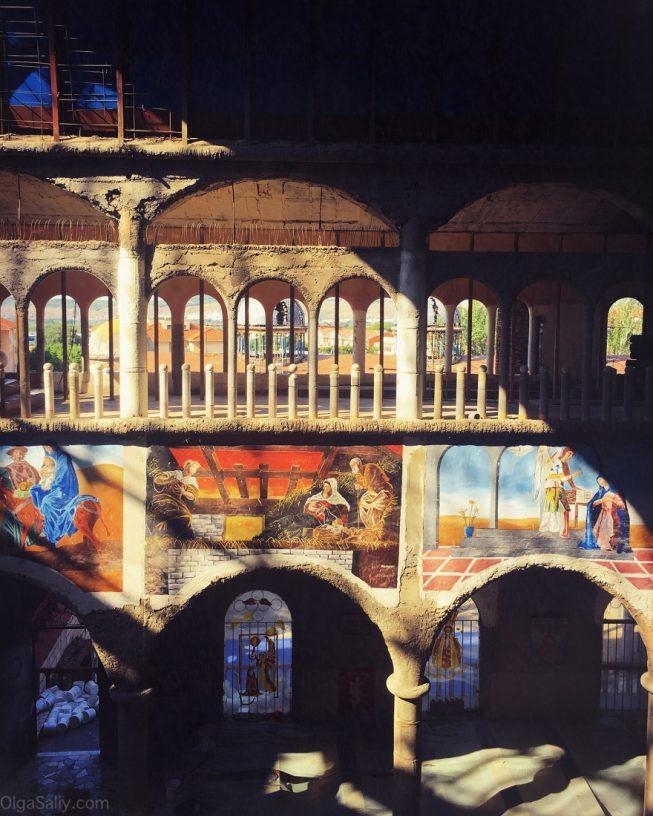 Недостроенный Собор возле Мадрида, интересные места! (12)