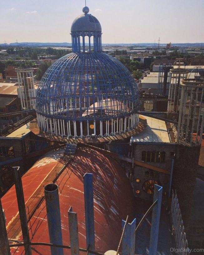 Недостроенный Собор возле Мадрида, интересные места! (5)