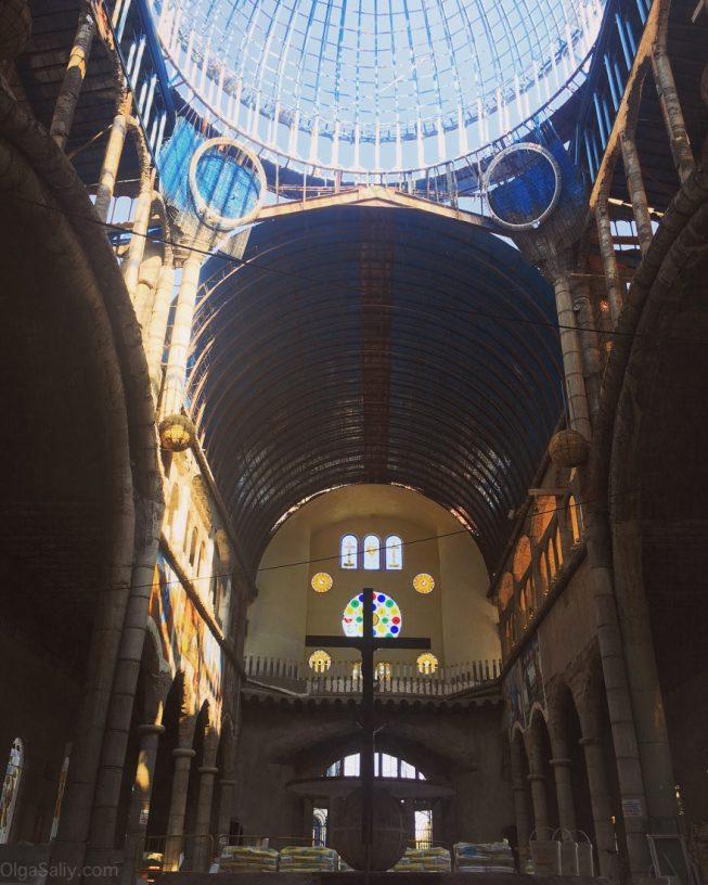Недостроенный Собор возле Мадрида, интересные места! (3)