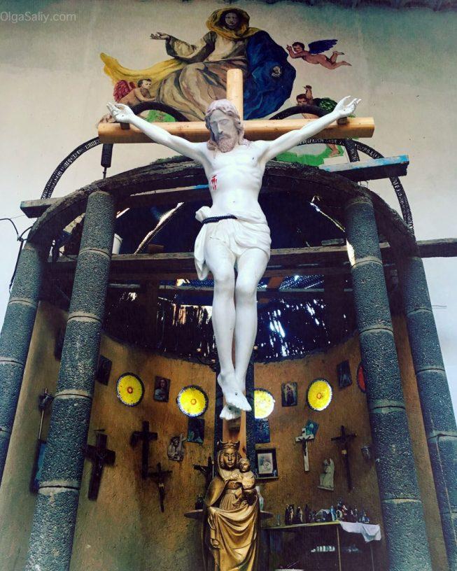 Недостроенный Собор возле Мадрида, интересные места! (1)