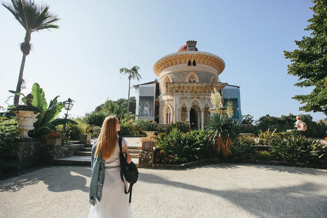 Замок Монсеррат в Синтре