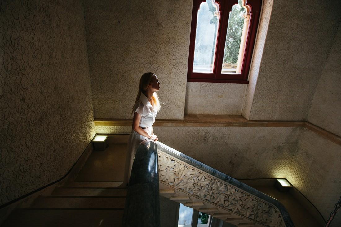 В замке Монсеррат, Португалия