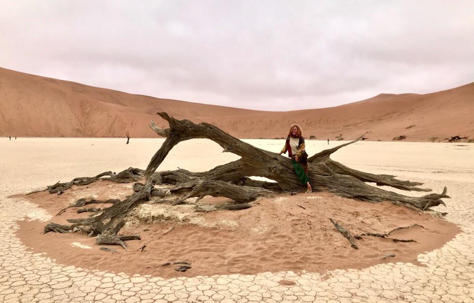 Автостопом по Африке, Намибия