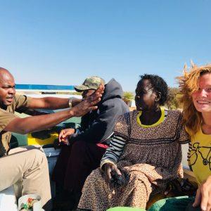 Автостоп в Намибии
