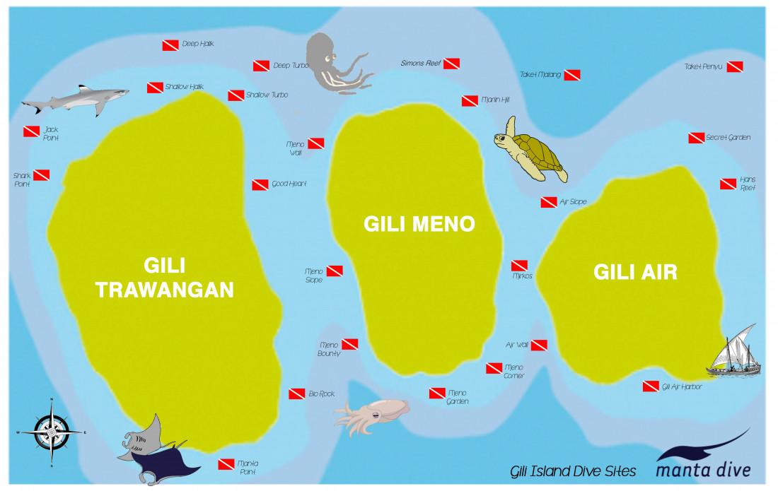 Снорклинг на Гили островах
