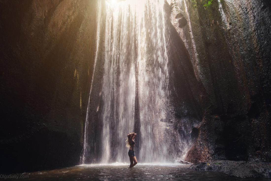 Водопад Cepung на Бали