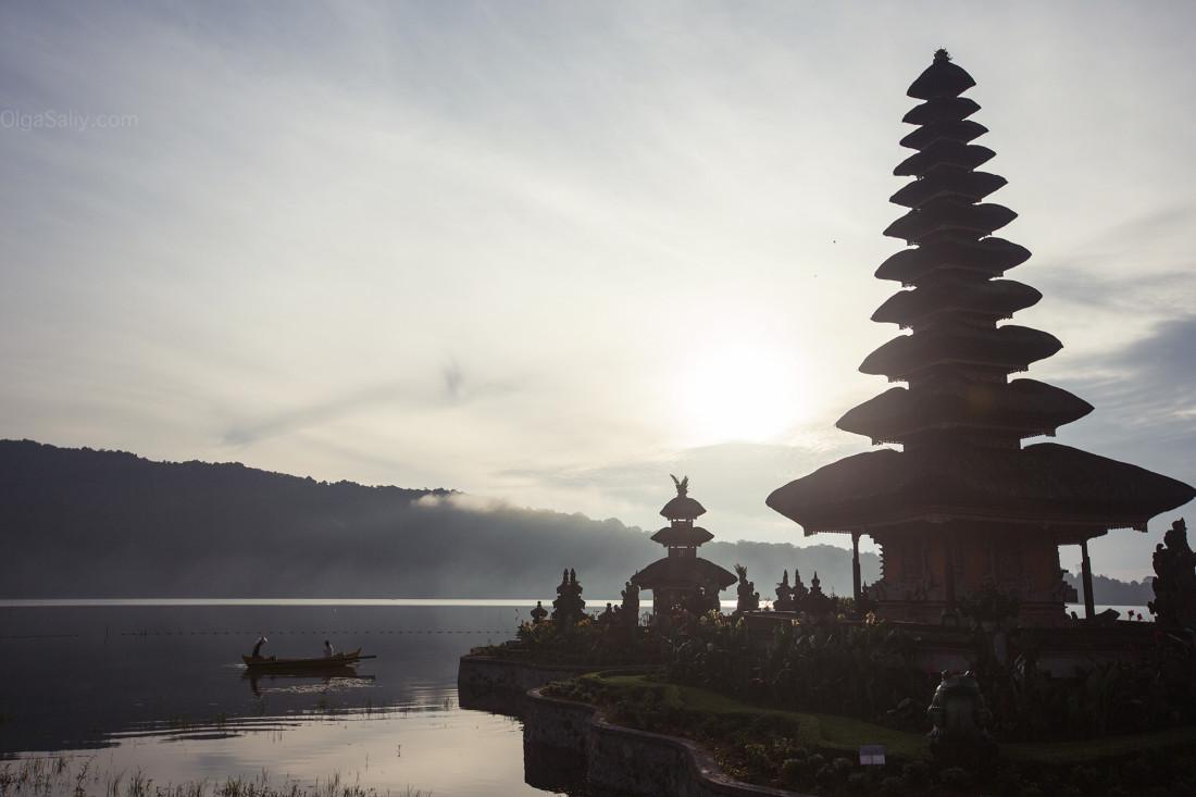 Pura Ulun Danu Bratan, храм наозере