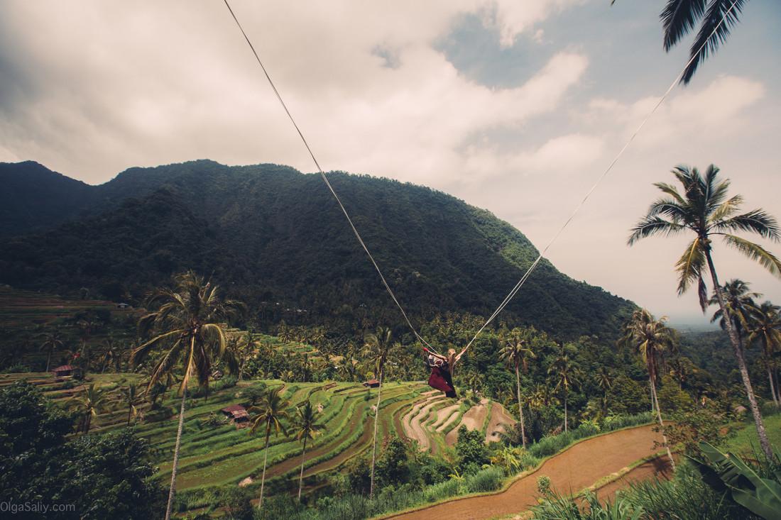 Недорогие качели на Бали!