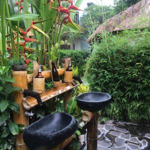 Бамбуковый отель на Бали, Чангу