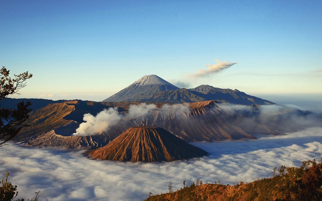 Вулкан Бромо на Яве