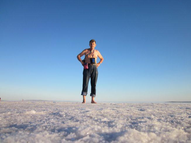 Ночёвка на соляном озере. Самостоятельное путешествие