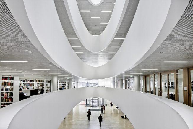 Библиотека Кайса Тало Хельсинки