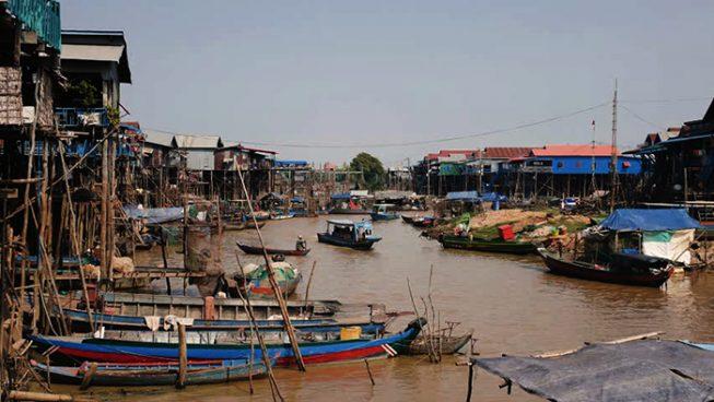 Плавучая деревня, Камбоджа