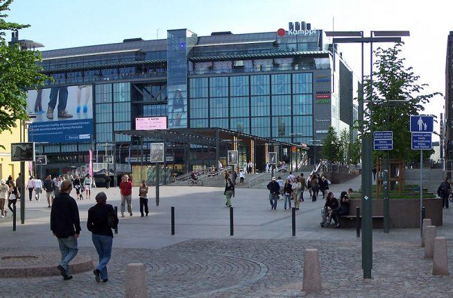 Автовокзал Хельсинки
