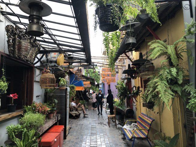 Район для прогулок в Сиемреап