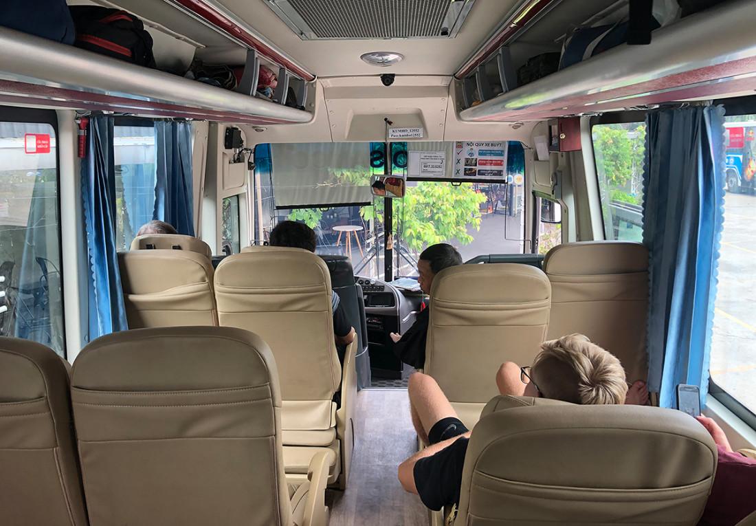Автобусы в Камбодже