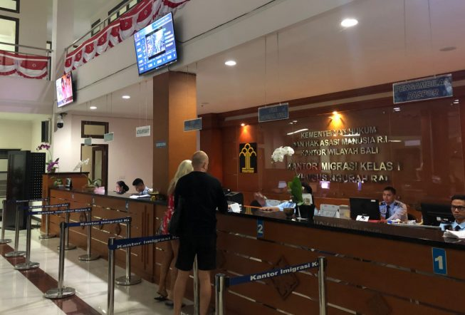 Продление визы Бали