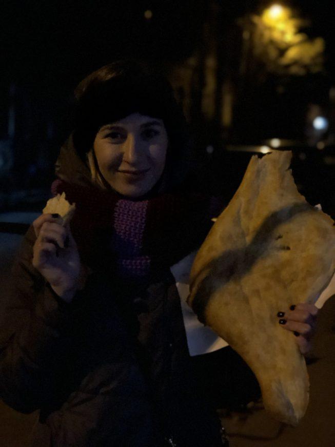 Лепешки из тандыра, Тбилиси