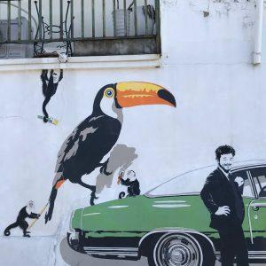 Где граффити в Сеуле