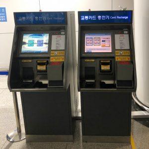 Купить транспортную карту в Сеуле