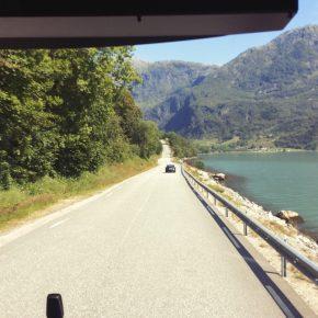 Самостоятельно путешествие по Норвегии автобусами