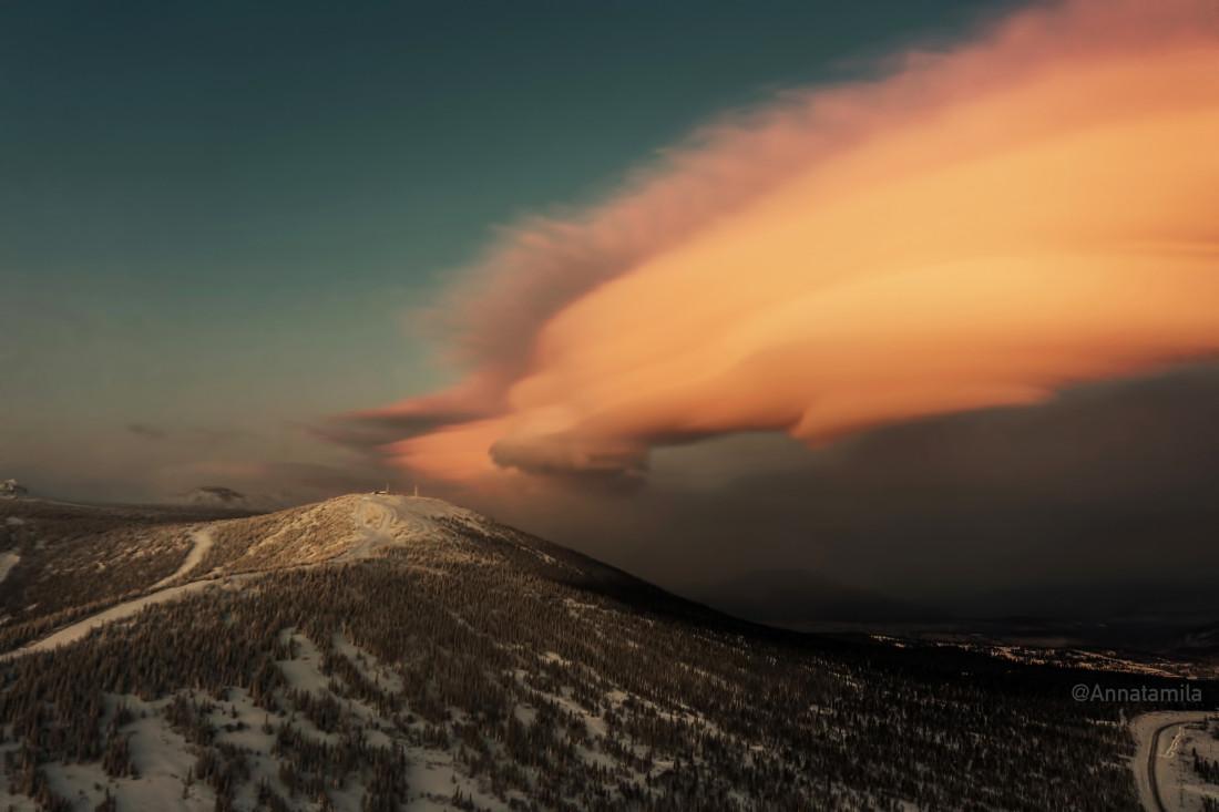 Шерегеш, гора Зелёная