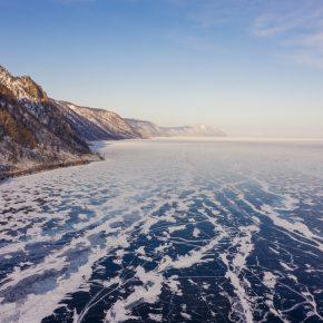 Путешествие по льду Байкала пешком самостоятельно (82)