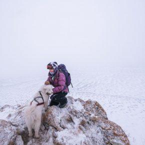 Путешествие по льду Байкала пешком самостоятельно (77)