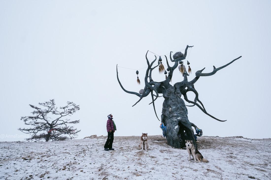 Путешествие по льду Байкала пешком самостоятельно (75)