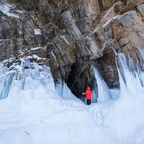 Путешествие по льду Байкала пешком самостоятельно (74)